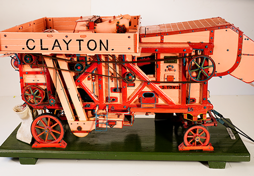 Clayton Threshing Machine