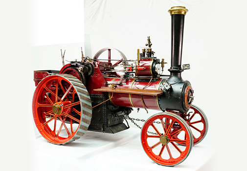 3 inches scaled Model of a 'Burrel Traction Engine'